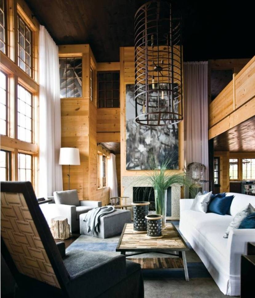 Contemporary Lake House Interior Designs With Wall Art And Unique For Best And Newest Lake House Wall Art (View 1 of 15)