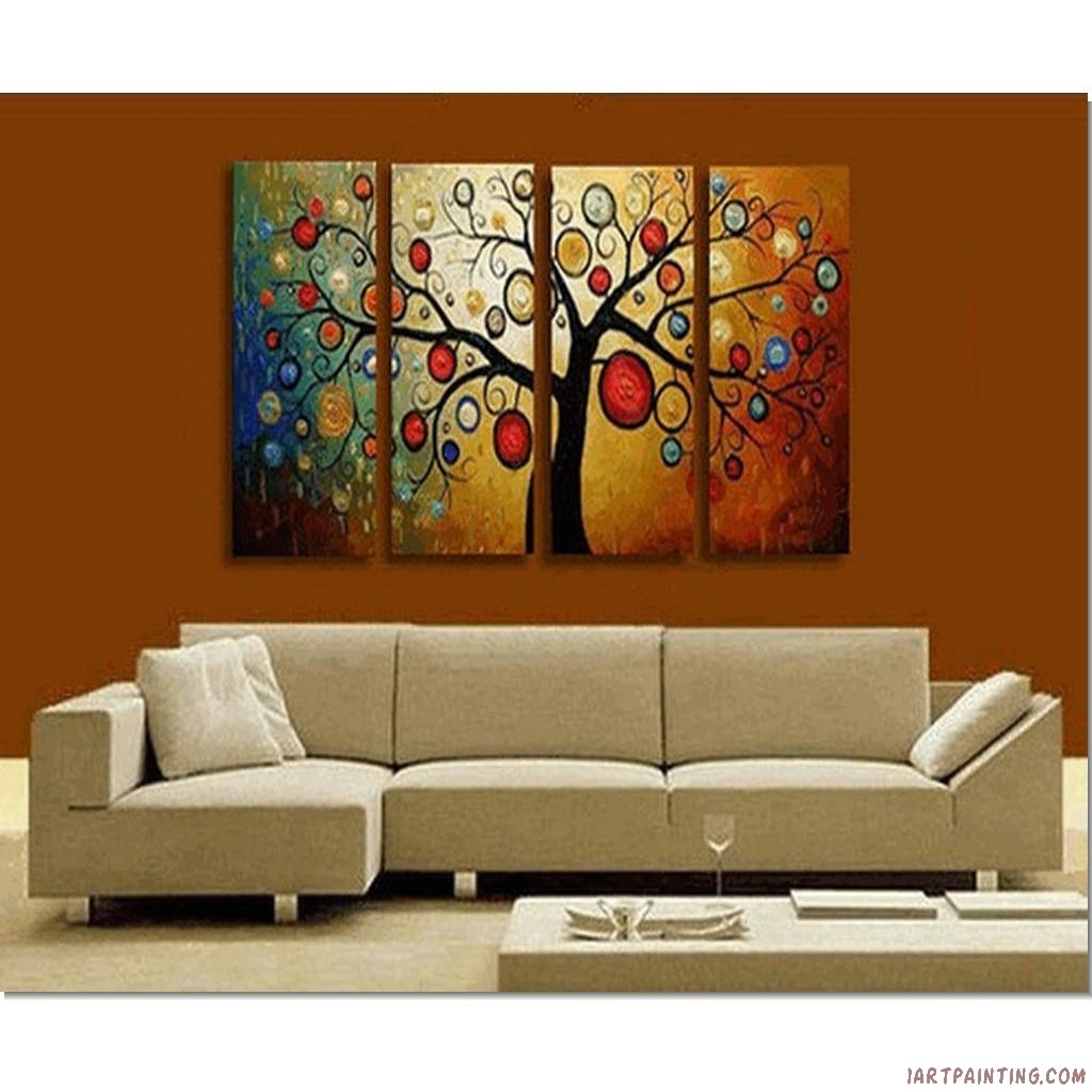 Contemporary Wall Art For Modern Homes | Decozilla Inside Most Up To Date Modern Painting Canvas Wall Art (View 12 of 20)