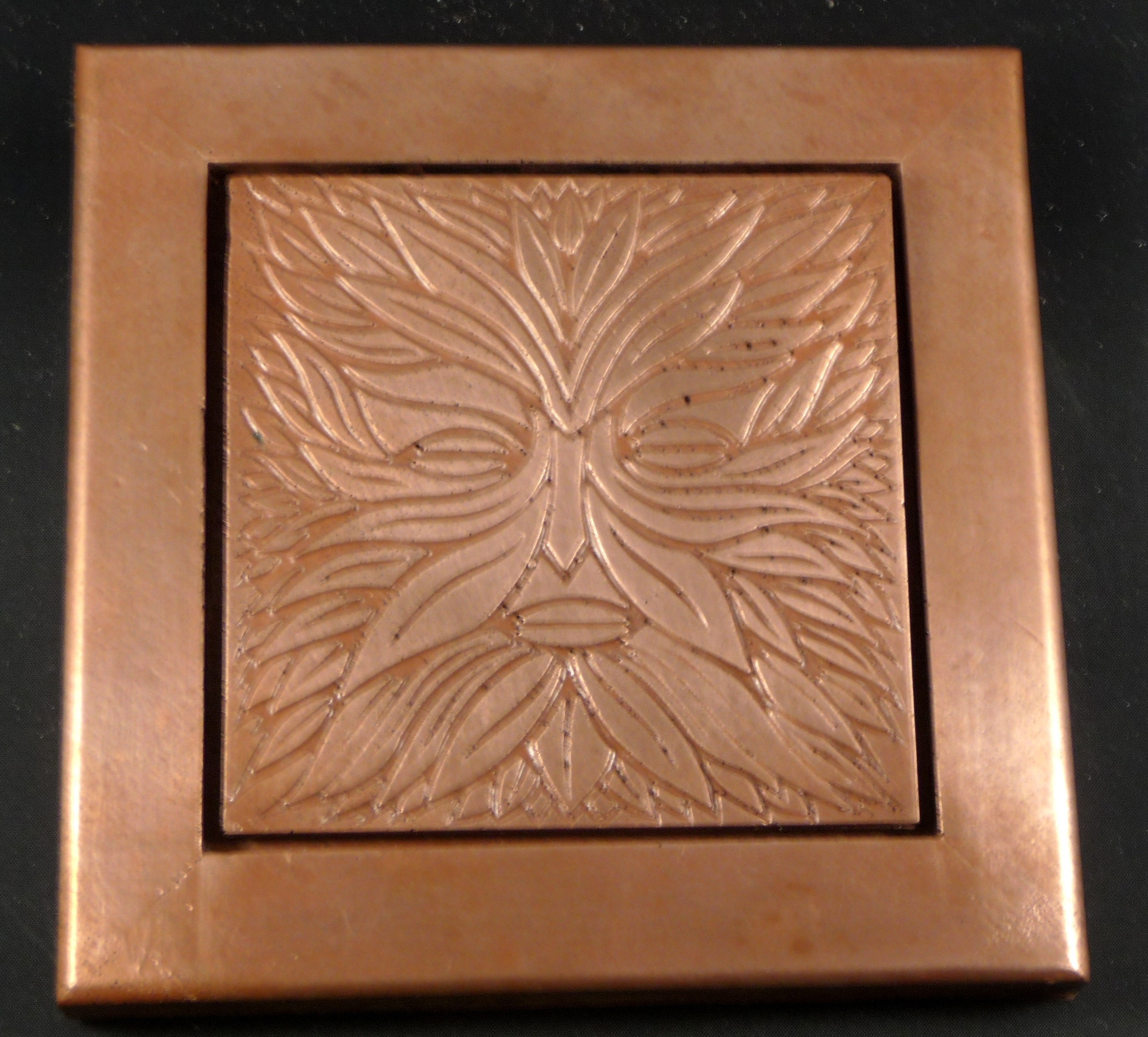 Copper Tile Wall Decor | Pacifica Tile Art Studio Pertaining To Most Up To Date Copper Wall Art (View 11 of 15)