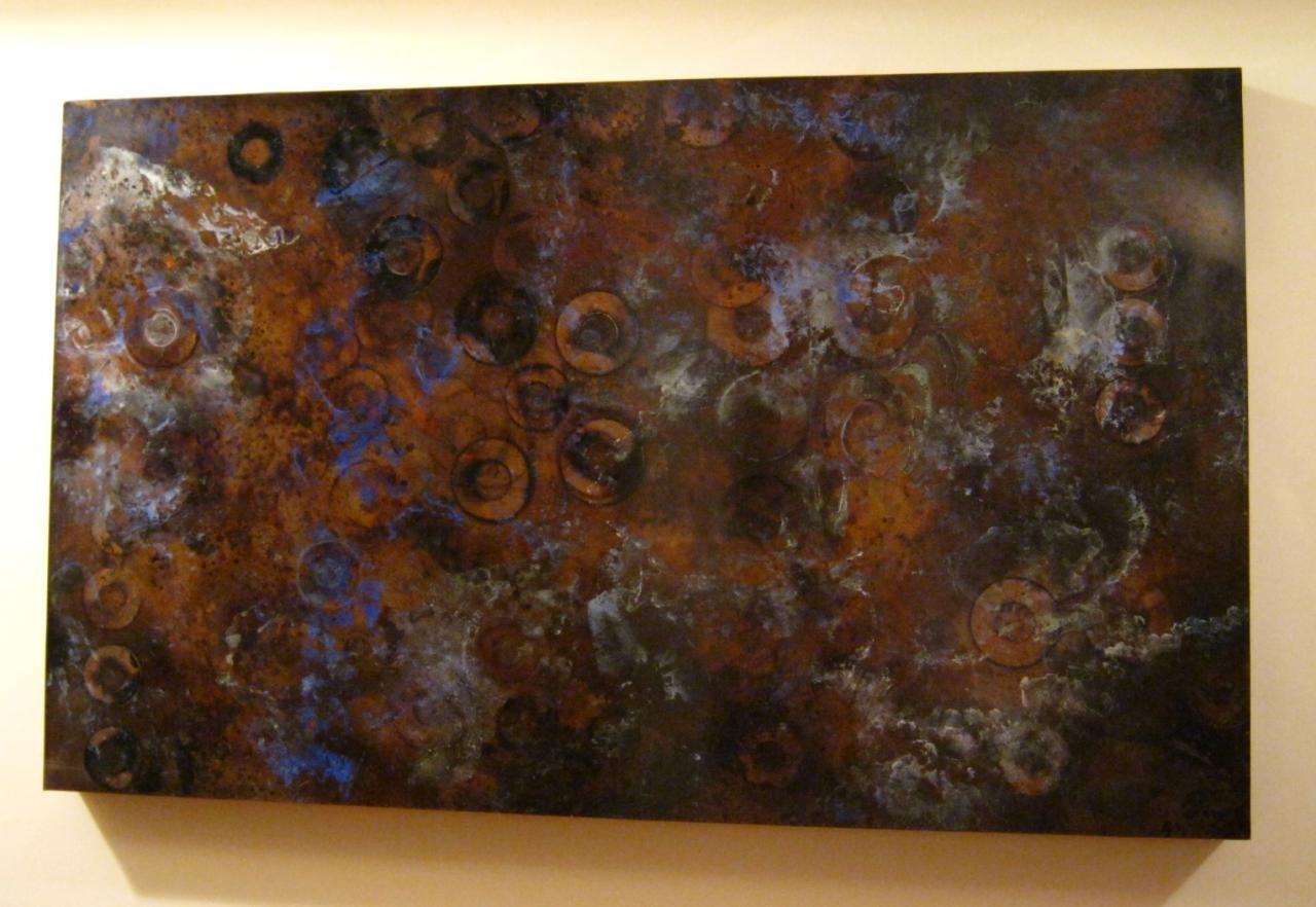 Copyright 2018 Mike Sluder Metalworks Llc – Selected Past Works Throughout Recent Copper Wall Art (View 8 of 15)