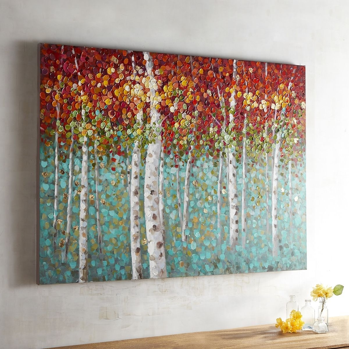 Courageous Trees Art | Pinterest | Tree Art And Paintings With Recent Pier 1 Wall Art (View 4 of 20)