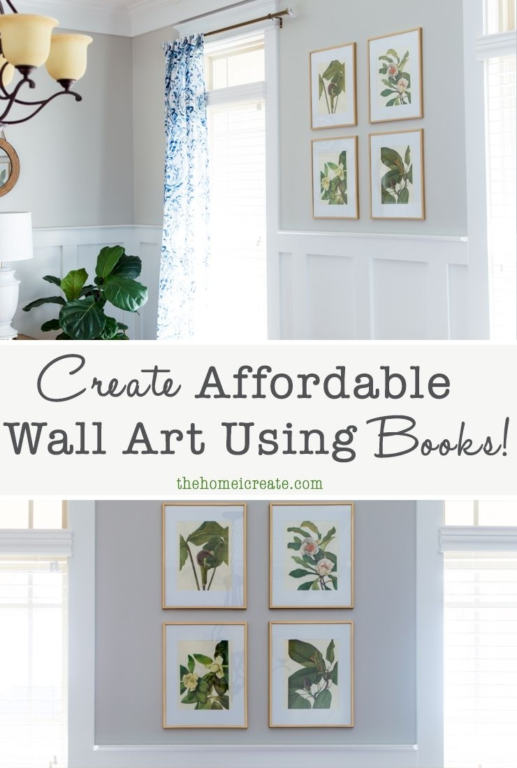 Create Affordable Wall Art Using Books! | Amazing Diy Projects In Most Popular Affordable Wall Art (View 9 of 20)