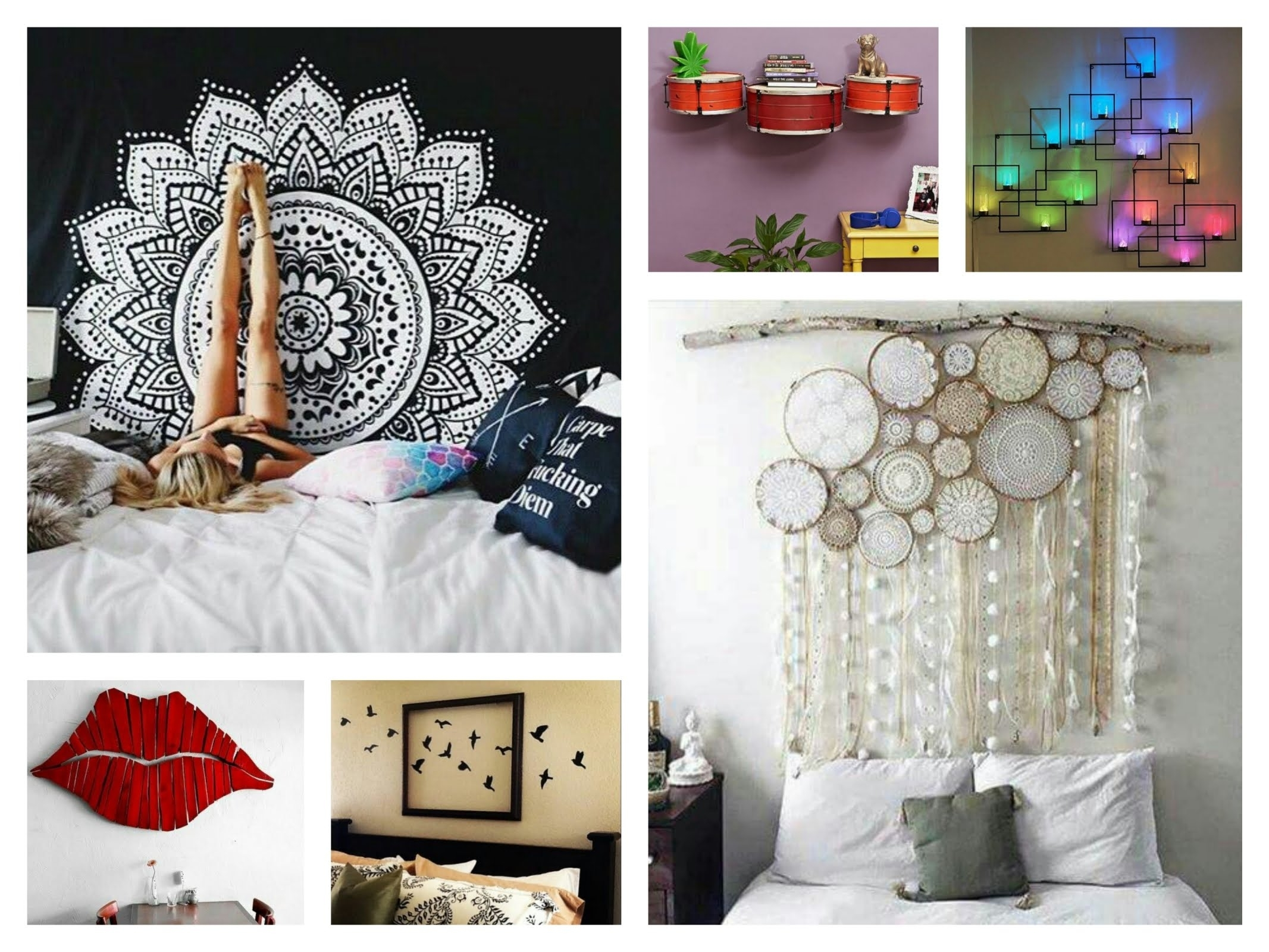 Creative Wall Decor Ideas – Diy Room Decorations – Youtube Within 2018 Wall Art Decors (Gallery 5 of 15)