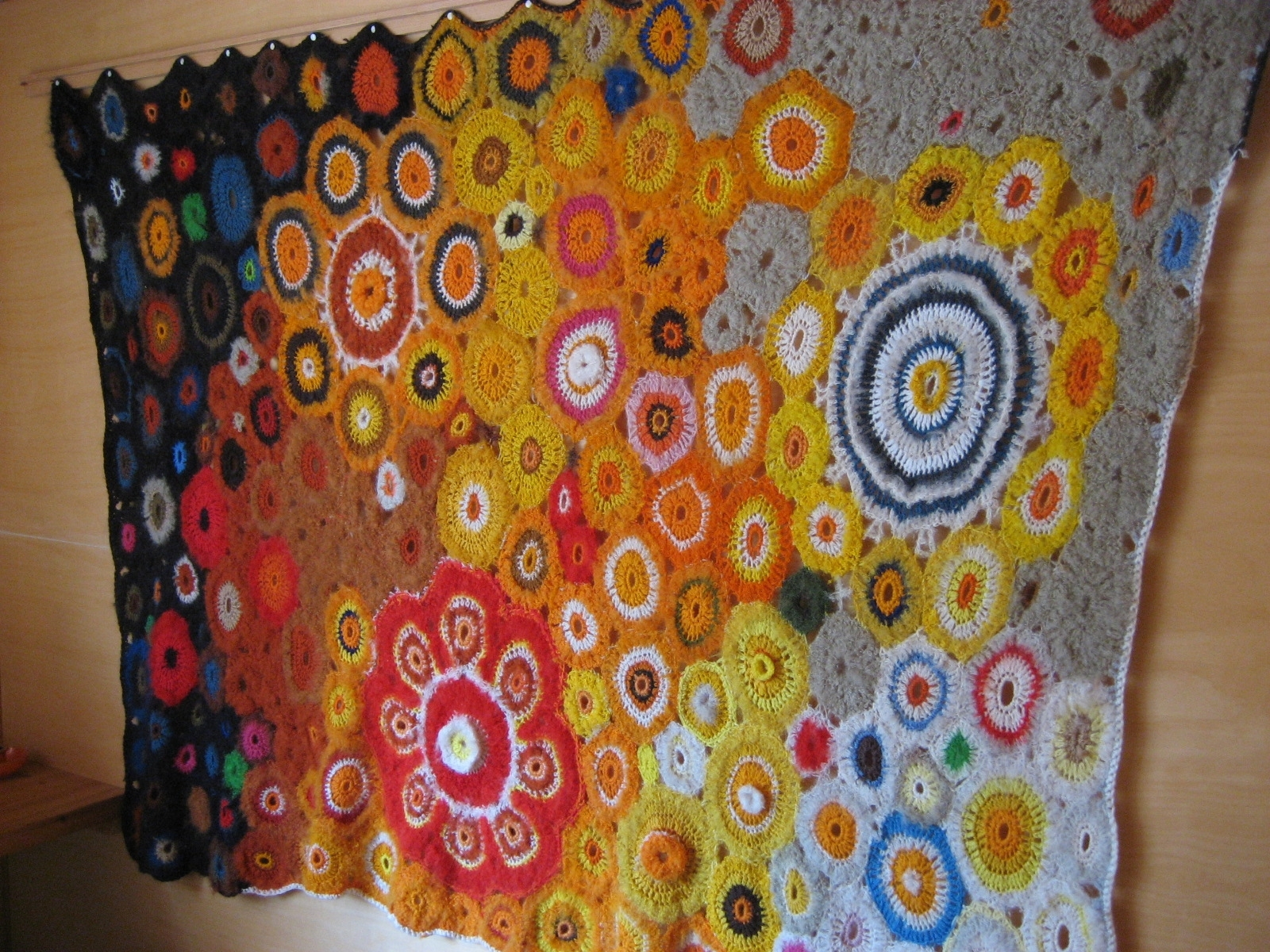 Crochet Wall Hanging | Nero's Post And Patch I (2010 2012) In Recent Crochet Wall Art (View 4 of 20)