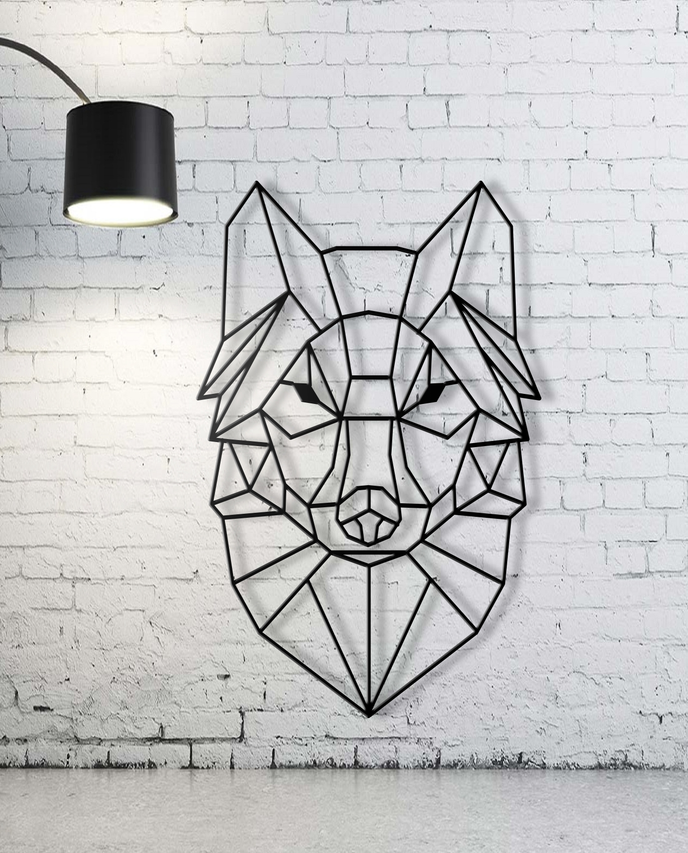 Custom Animal Geometric Cute Geometric Wall Art – Wall Decoration Regarding Most Recently Released Geometric Wall Art (View 7 of 20)