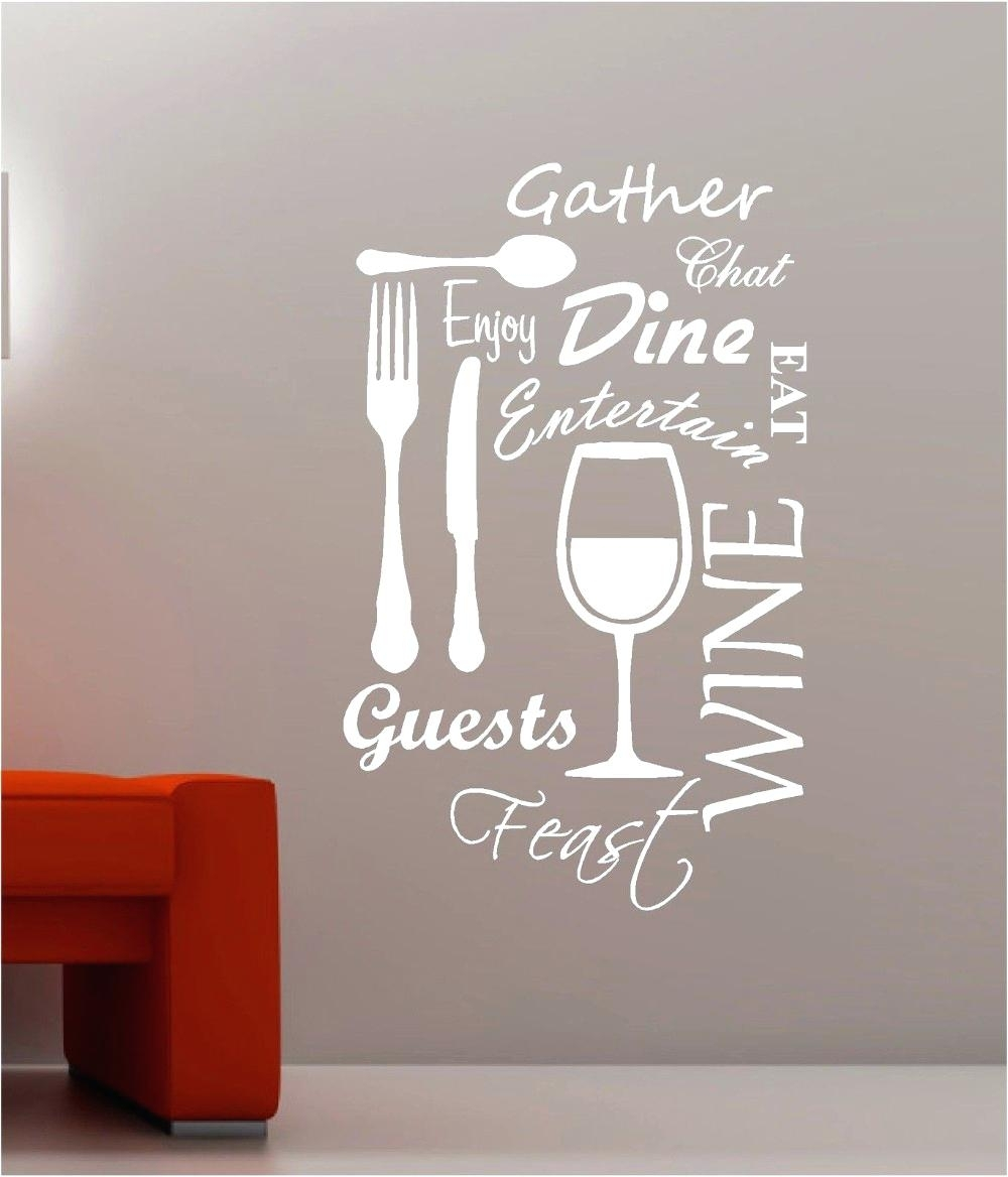 Custom Wall Word Decals Wall Design Word Art For Walls Inspirations Regarding Recent Word Art For Walls (View 4 of 20)