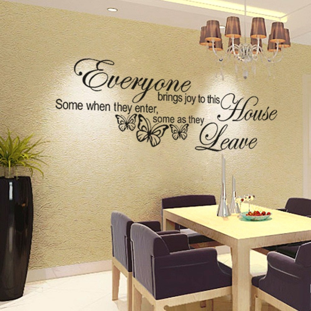 Dainty Nursery Decorating Pinterest Important Peace Signs Wall Decor With Newest Word Wall Art (View 4 of 20)