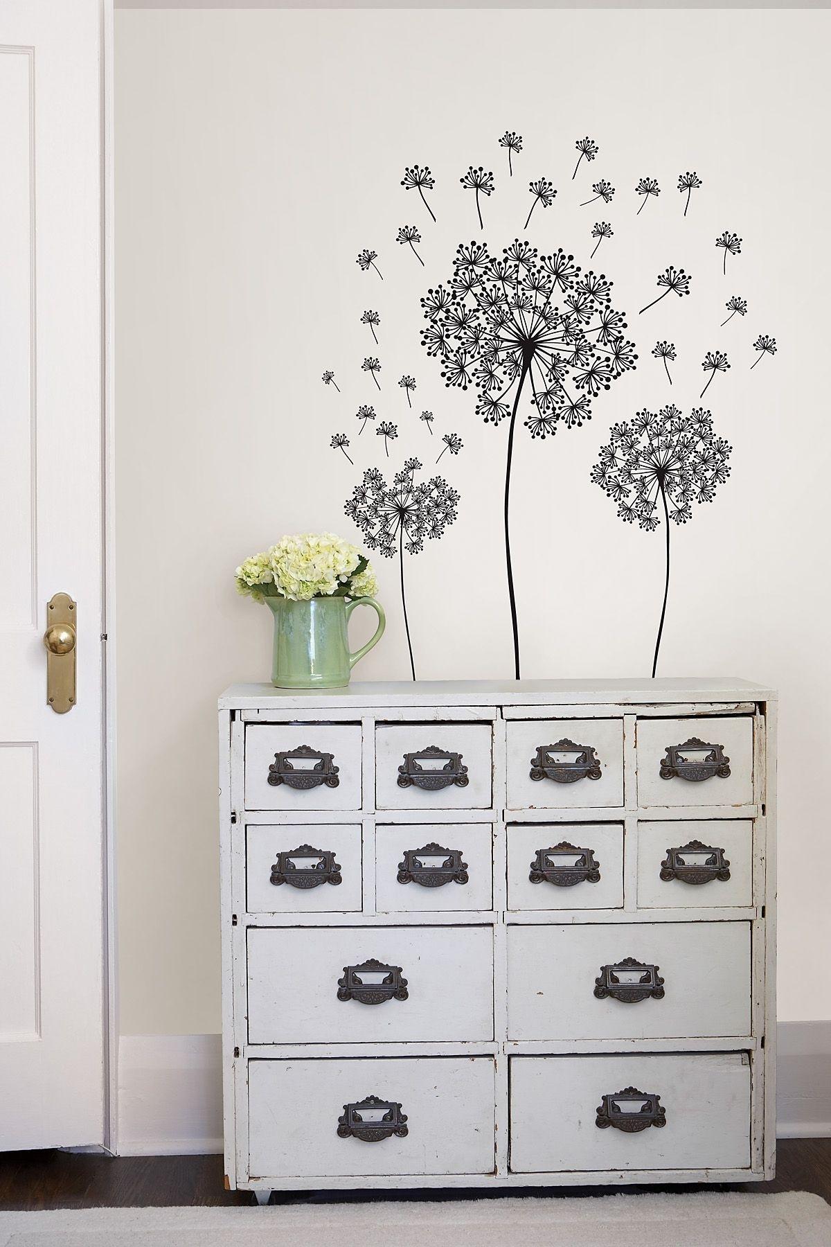 Dandelion Wall Art Sticker Kit Pertaining To Recent Dandelion Wall Art (View 8 of 20)