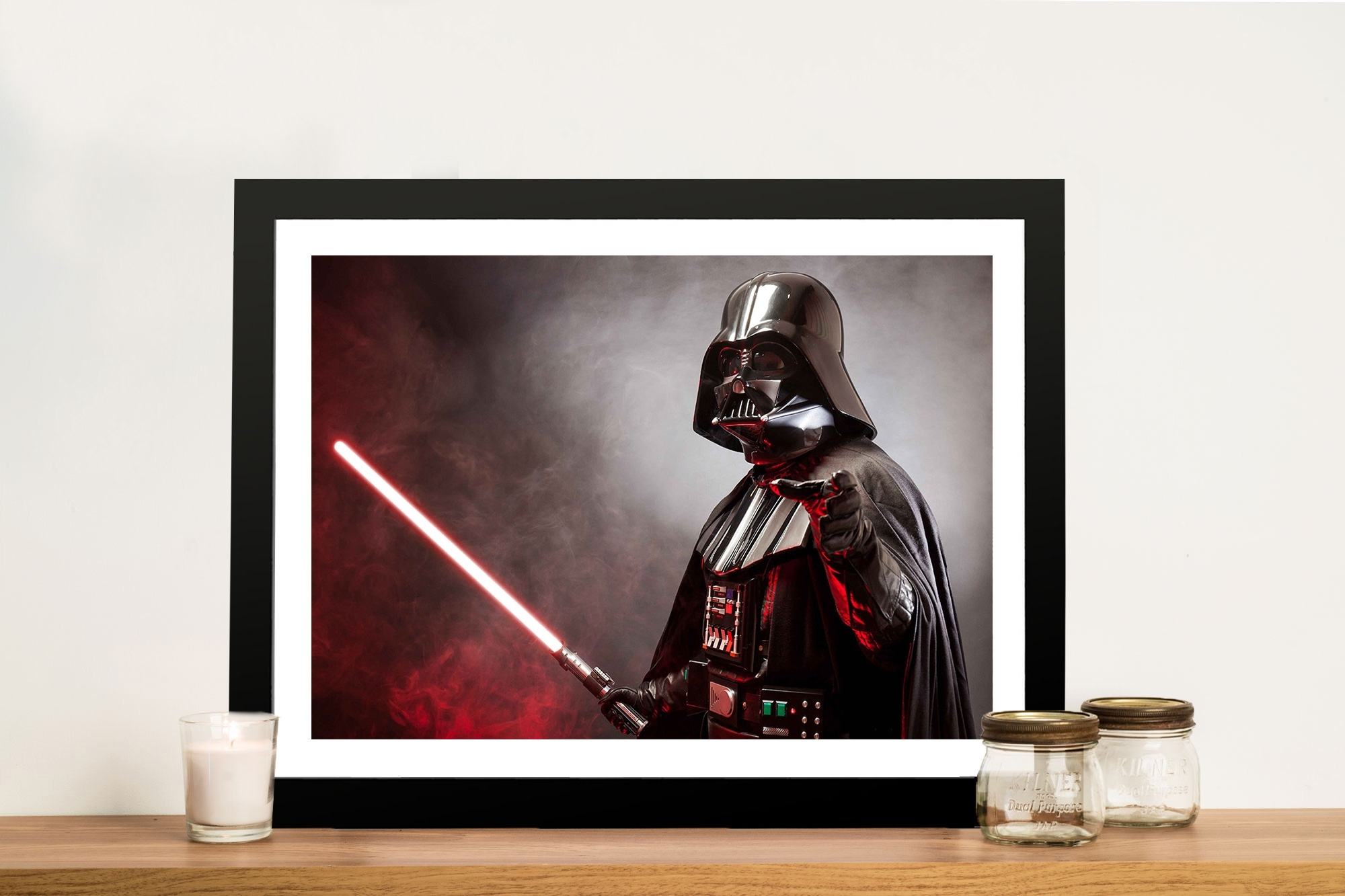 Darth Star Wars Canvas Print | Wall Art Print Australia With Regard To 2018 Darth Vader Wall Art (View 4 of 20)