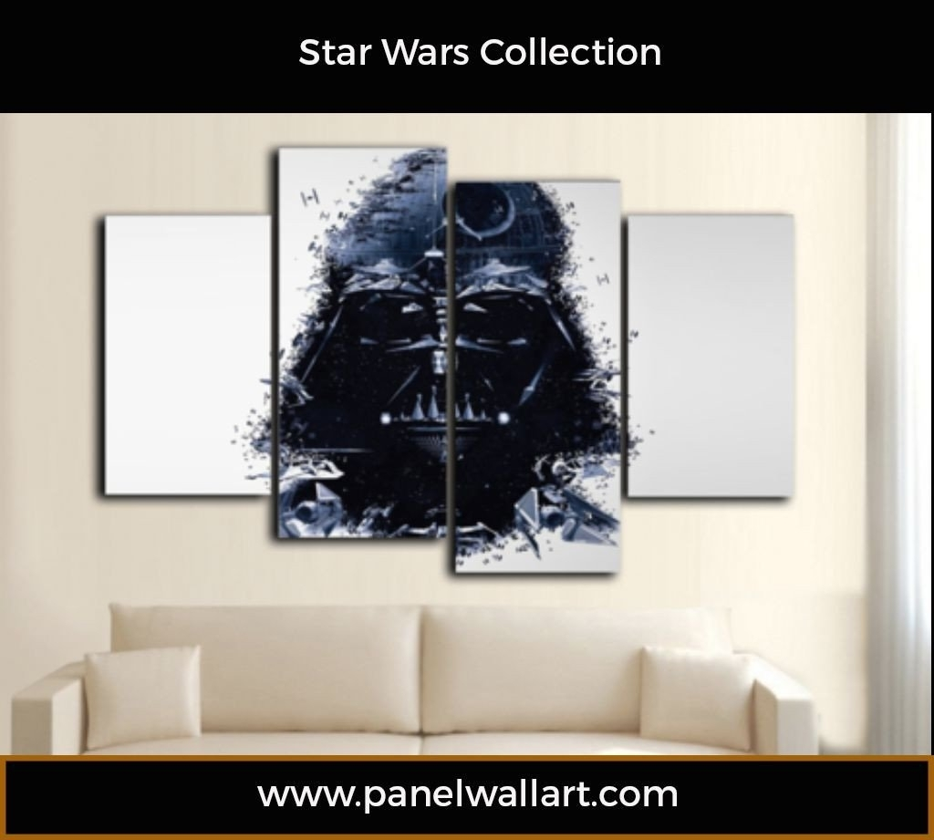 Darth Vader Of Star Wars | Panelwallart Intended For Most Popular Darth Vader Wall Art (View 5 of 20)