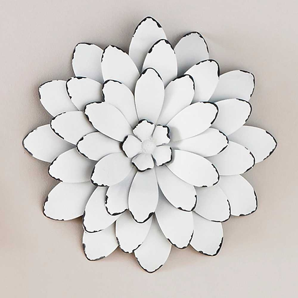 Dashing Green Metal Wall Art Aluminum Outdoor Main Large Green Pertaining To 2017 Metal Flower Wall Art (View 3 of 15)