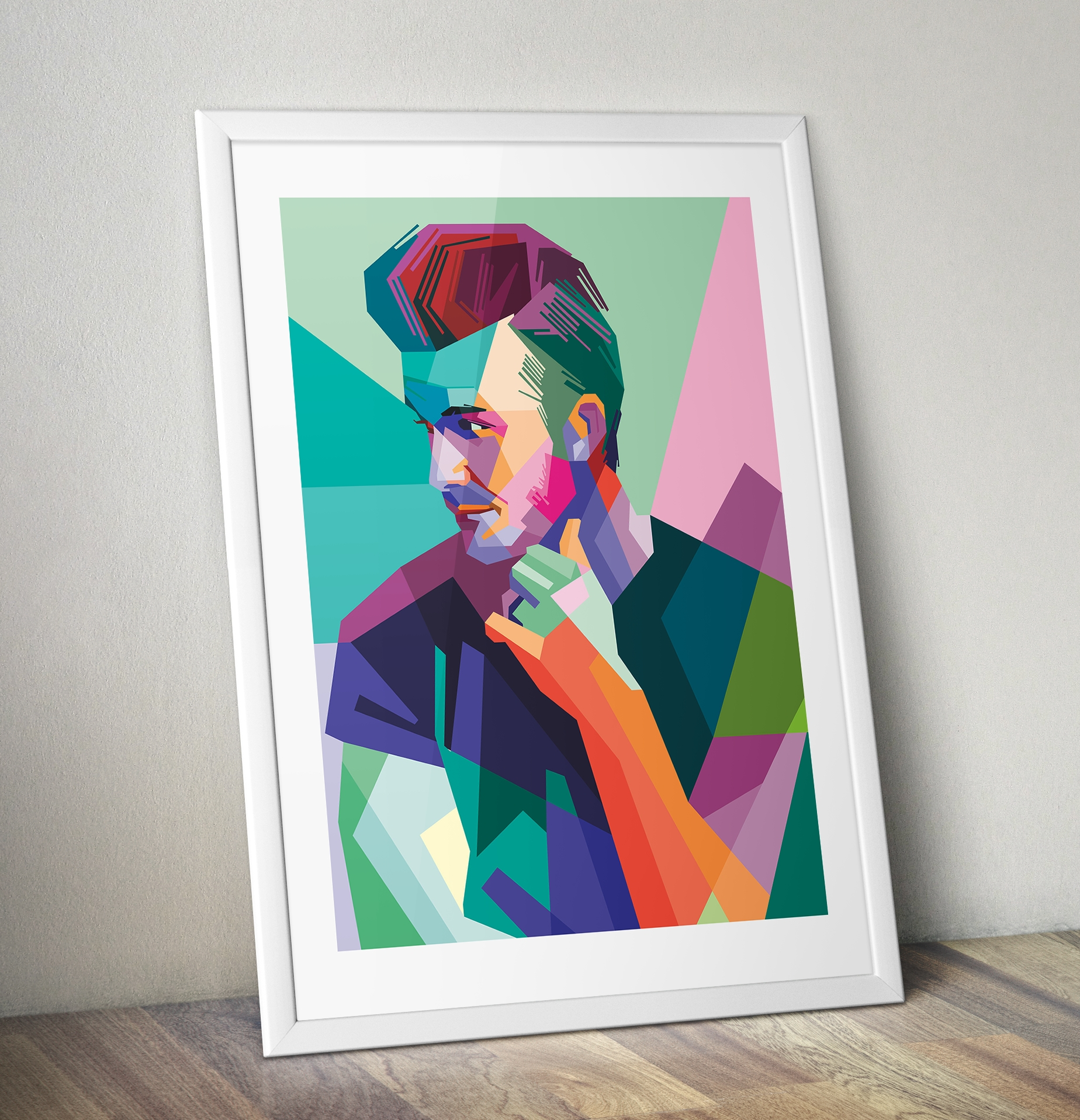 David Beckham Pop Art Canvas Print | Pop Art Gifts | Pop Art Shop Throughout Most Recently Released Wall Art Prints (View 13 of 20)