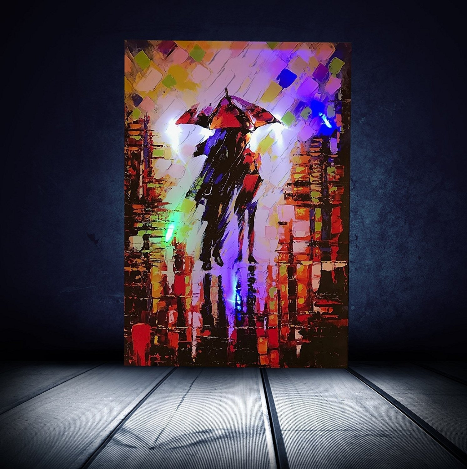 Dcdirect – Led Lighted Canvas Beautiful Realistic Wall Art – Canvas Inside Recent Led Wall Art (Gallery 6 of 20)