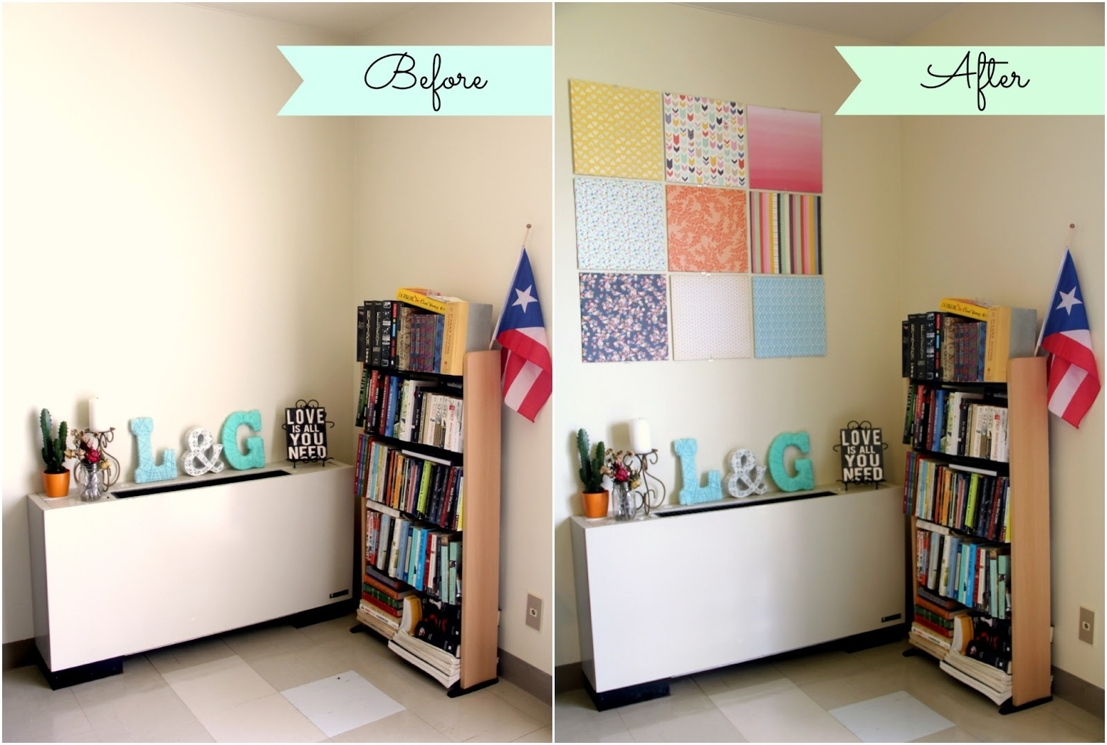 Decor: Beautiful Diy Wall Decor And Artwork Ideas With Large Canvas For Latest Tile Canvas Wall Art (View 10 of 20)