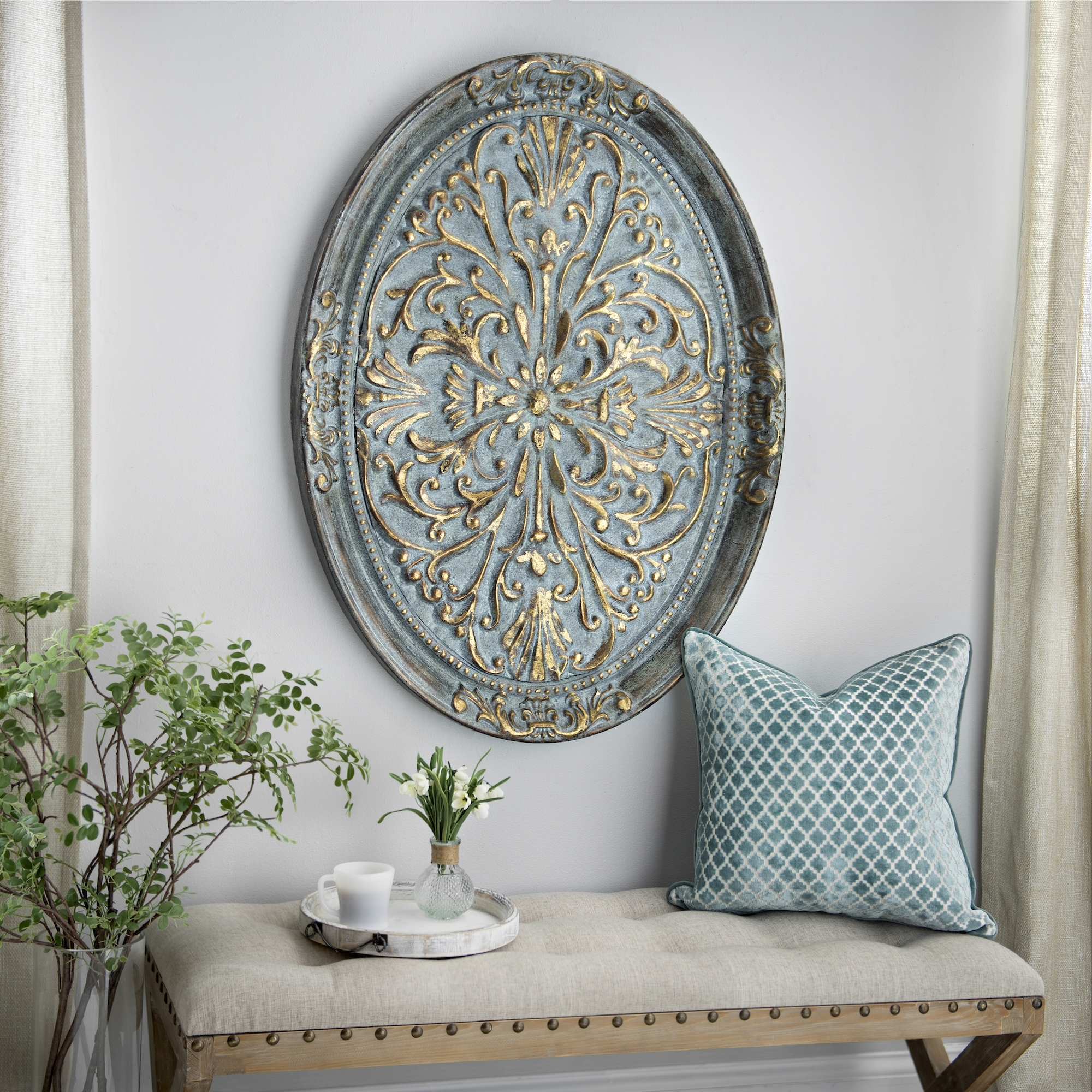 Decor: Round Kirklands Wall Art Metal In Grey With Decorative Throughout 2018 Kirklands Wall Art (View 5 of 15)