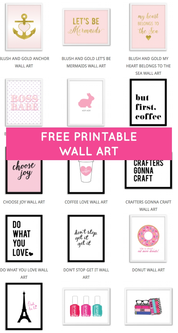 Decorate | Printable Wall Art, Free Printable And Walls For Current Free Printable Wall Art Decors (View 3 of 20)