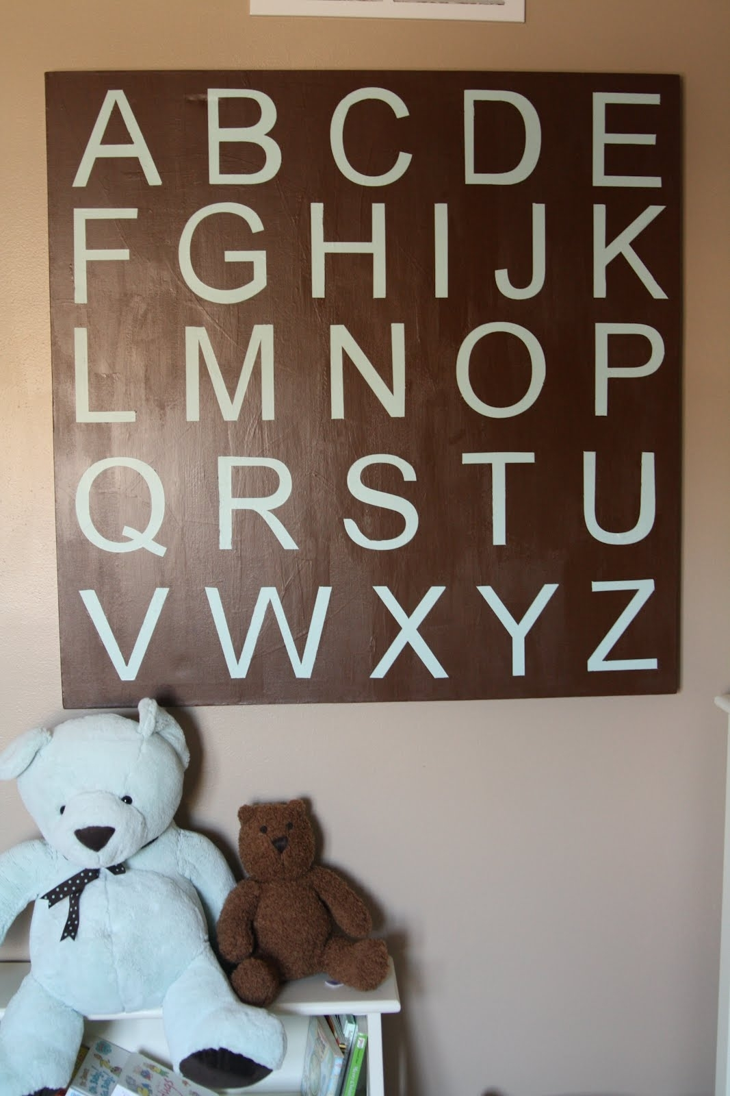 Decorating The Dorchester Way: Large Alphabet Wall Art In Most Popular Alphabet Wall Art (View 12 of 20)