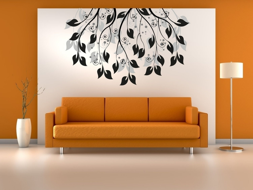 Decoration Art Of Wall Painting 3D Wall Paintings Home Home Decor With Regard To Most Up To Date Home Wall Art (View 4 of 20)
