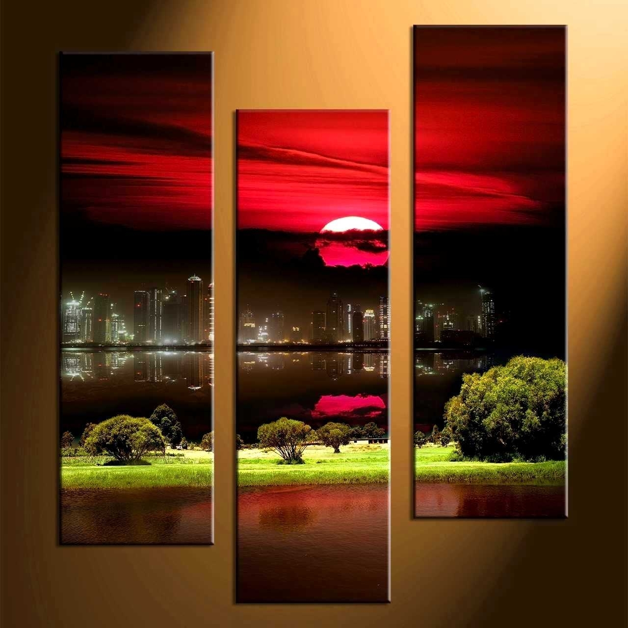 Delectable Remarkable Wall Decor Piece Canvas Art Black Artwork Home Inside Newest Red And Black Canvas Wall Art (View 10 of 20)