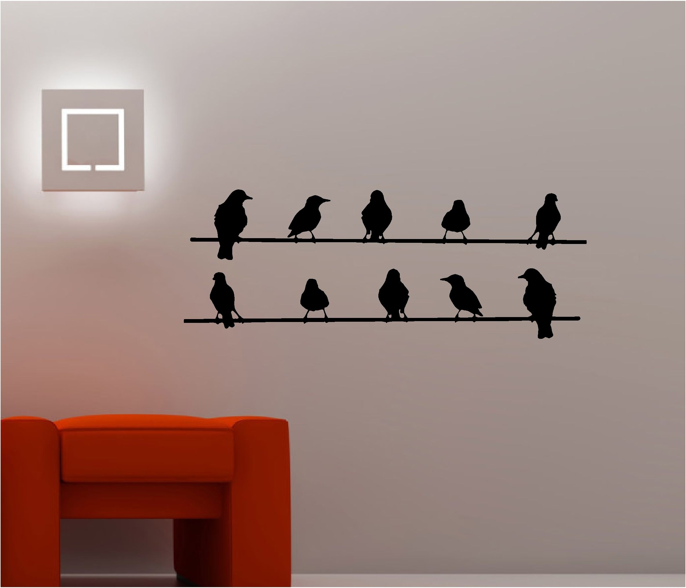 Depiction Of Birds On Wire Wall Art Optimize Every Inch Of Interior Pertaining To Recent Birds On A Wire Wall Art (Gallery 5 of 20)