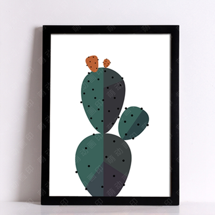 Desert Cactus Wall Art Print Decorative Wall Painting , Cactus With Most Recently Released Cactus Wall Art (Gallery 12 of 20)