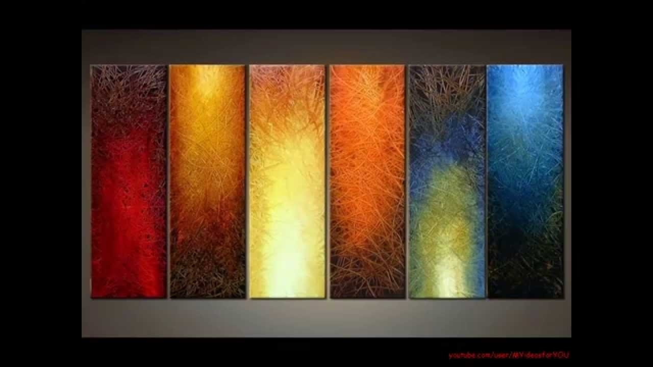 Diy Art Canvas Painting Ideas For Living Room – Youtube In Best And Newest Wall Art Paintings (View 2 of 20)