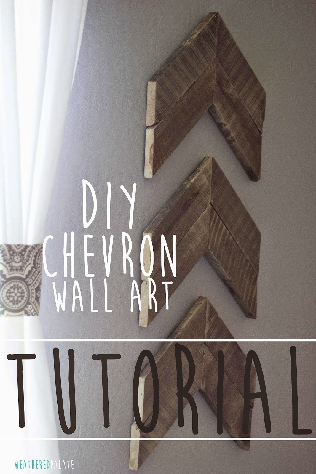 Featured Photo of Chevron Wall Art