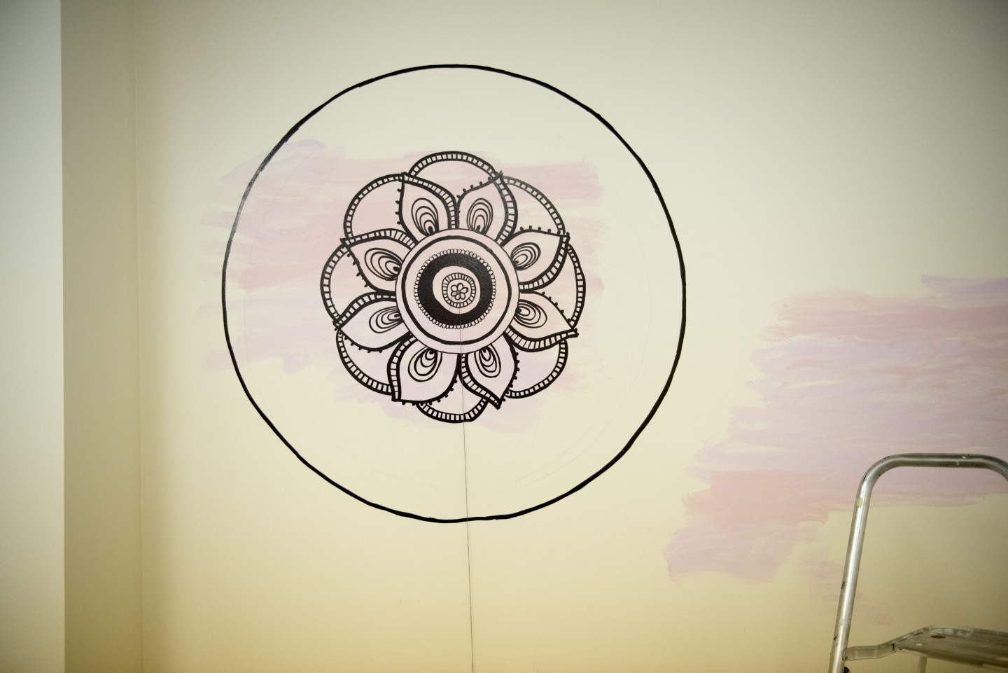 Diy Mandala Wall Art | With A Sharpie And No Stencils! Throughout Best And Newest Mandala Wall Art (View 5 of 20)
