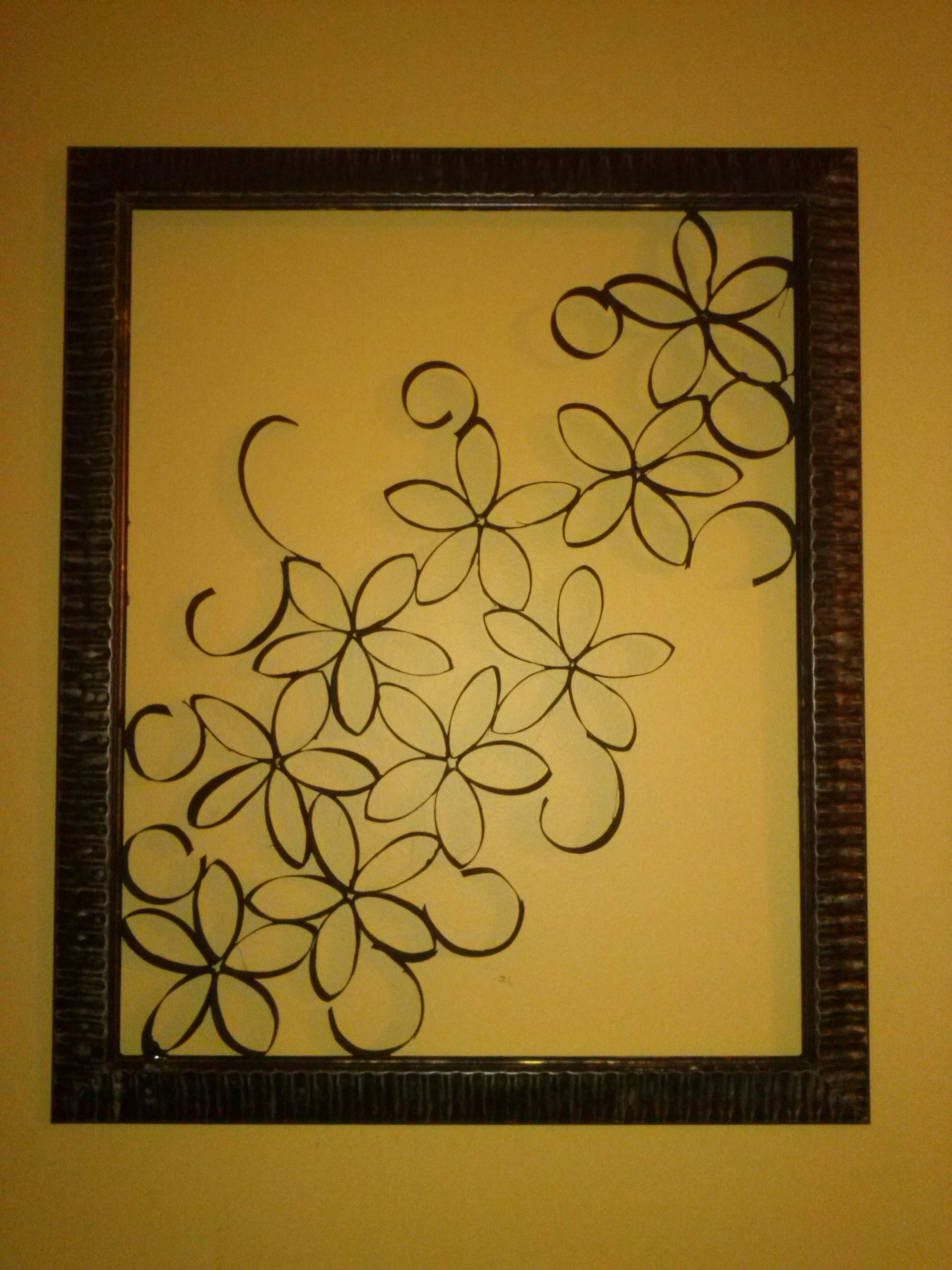 Diy Toilet Paper Roll Wall Art | Via Hand With Regard To Most Up To Date Toilet Paper Roll Wall Art (View 7 of 20)