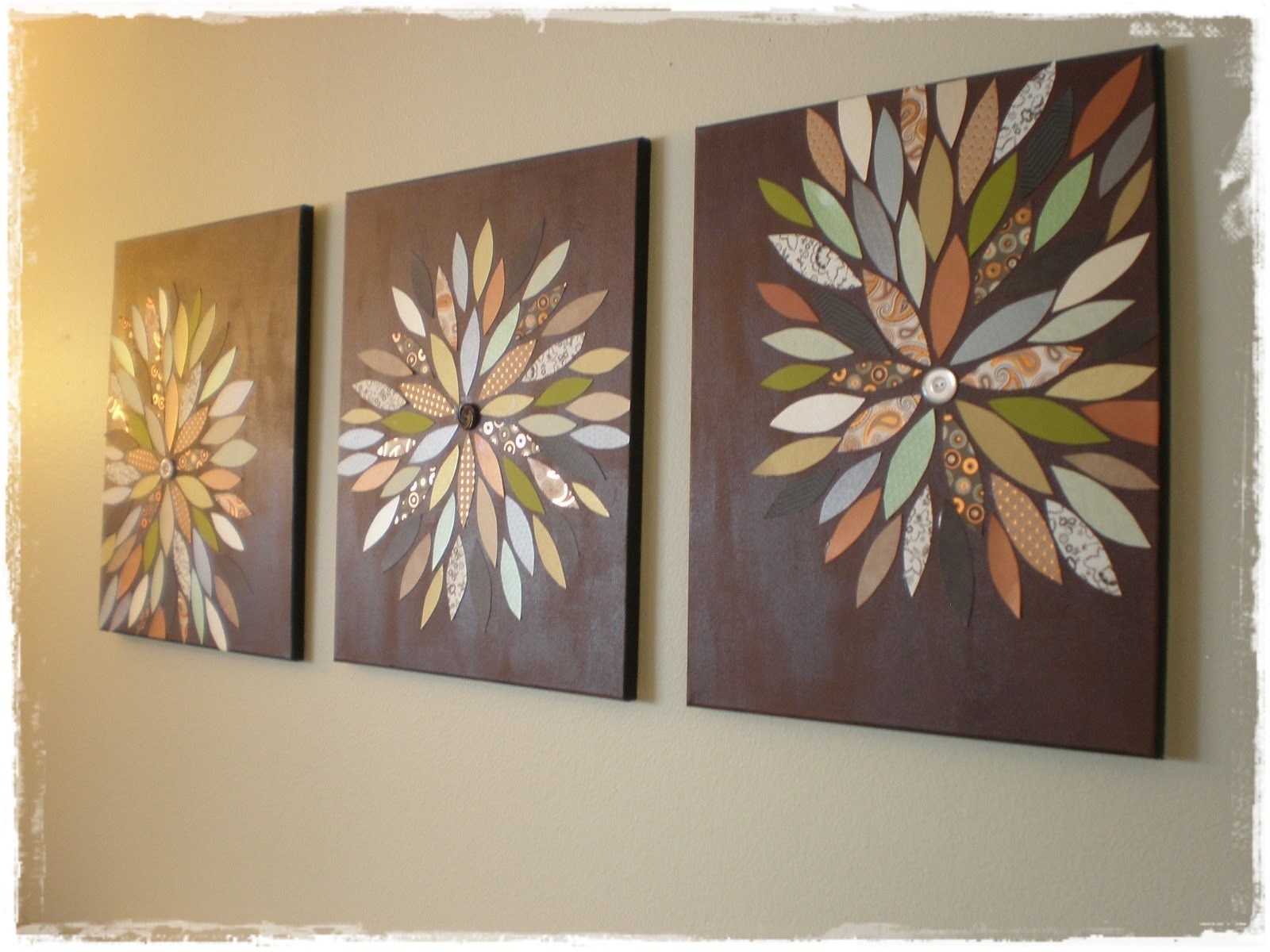 Diy Wall Art Craft Ideas – Home Art Decor | #51696 For Latest Diy Wall Art Projects (View 9 of 20)