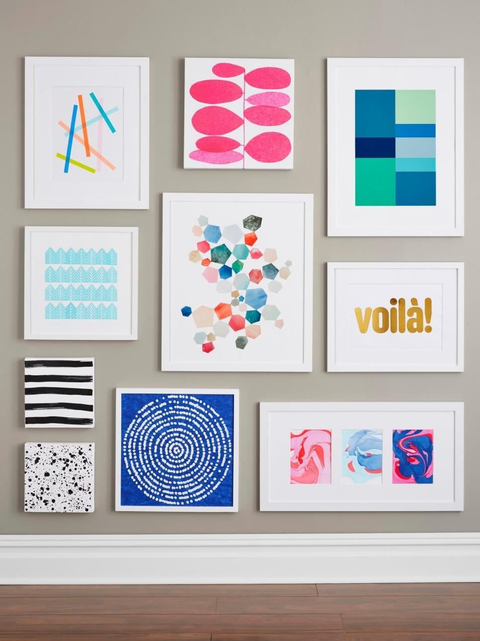 Diy Wall Art Diy Wall Art Projects Anyone Can Do Hgtv | Fall Home Decor With Regard To Most Current Wall Art Diy (View 3 of 20)