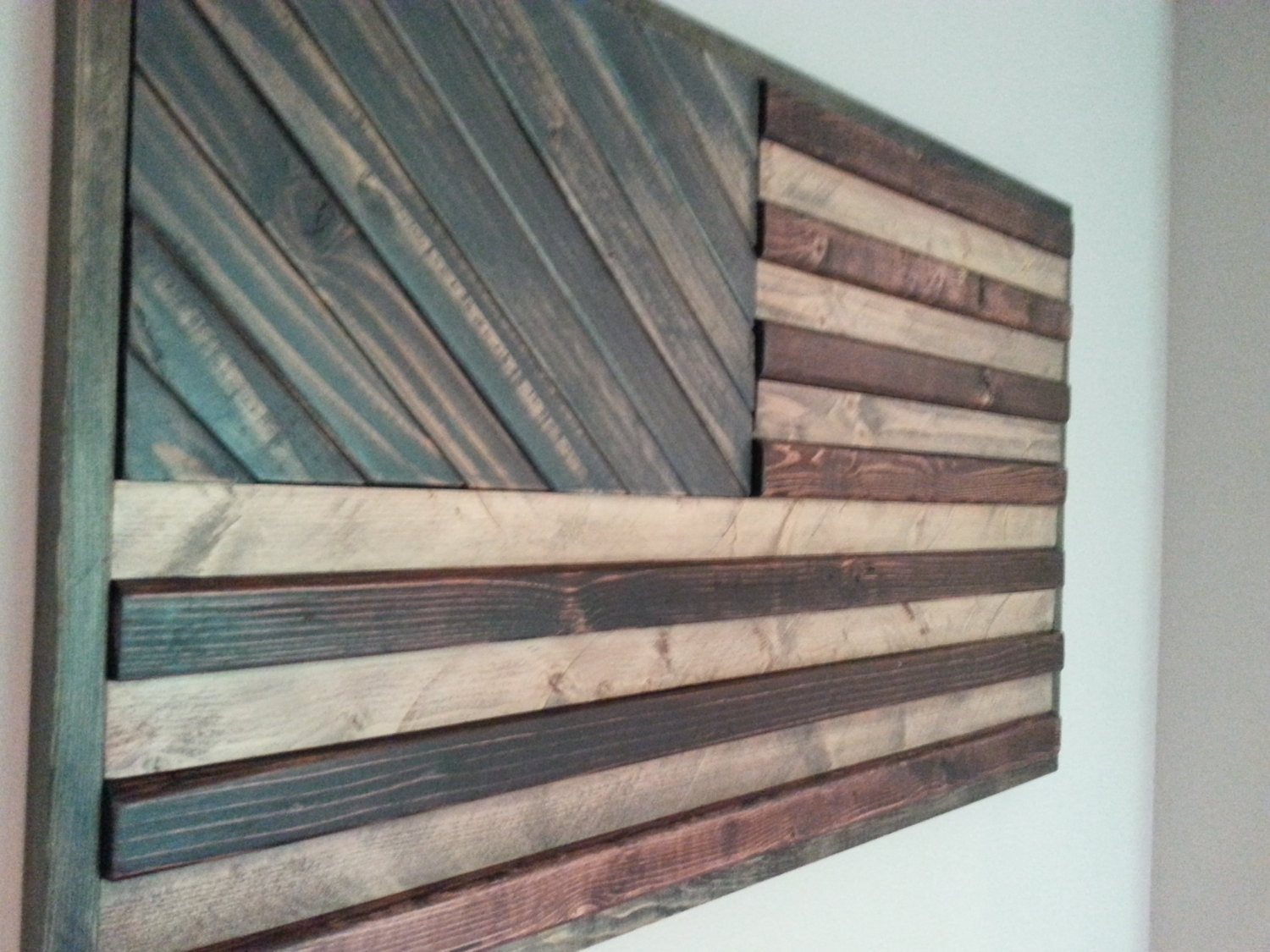 Diy Wood Wall Art Ideas Projects Pinterest Plank Arts And Crafts Regarding Most Current Wood Wall Art Diy (View 14 of 15)