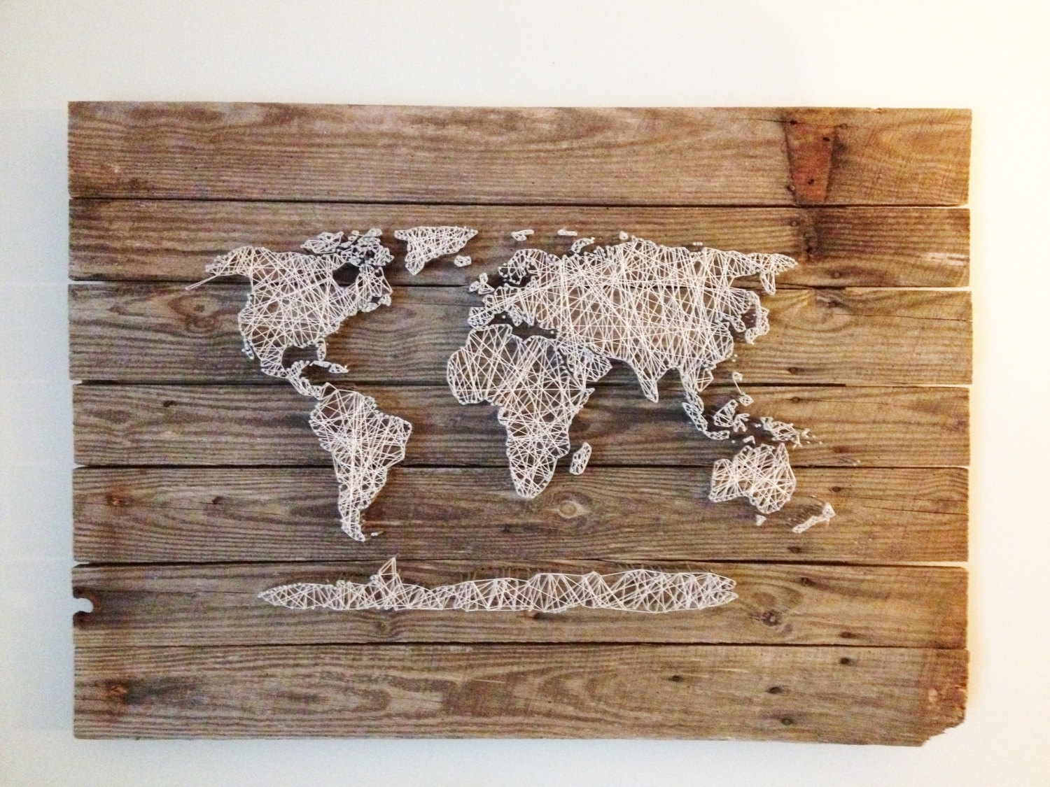 Diy World Map Wall Decor Noavg. Map Of Decor. Travel Map Decor (View 12 of 20)