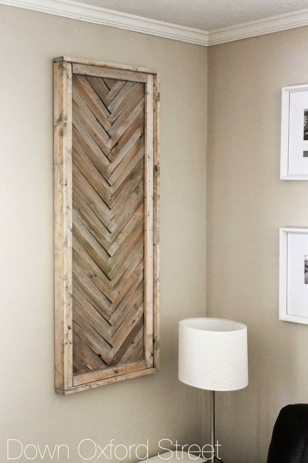 Down Oxford Street: Diy Wood Shim Wall Art | Diy Wood | Pinterest Inside Latest Diy Wood Wall Art (View 17 of 20)
