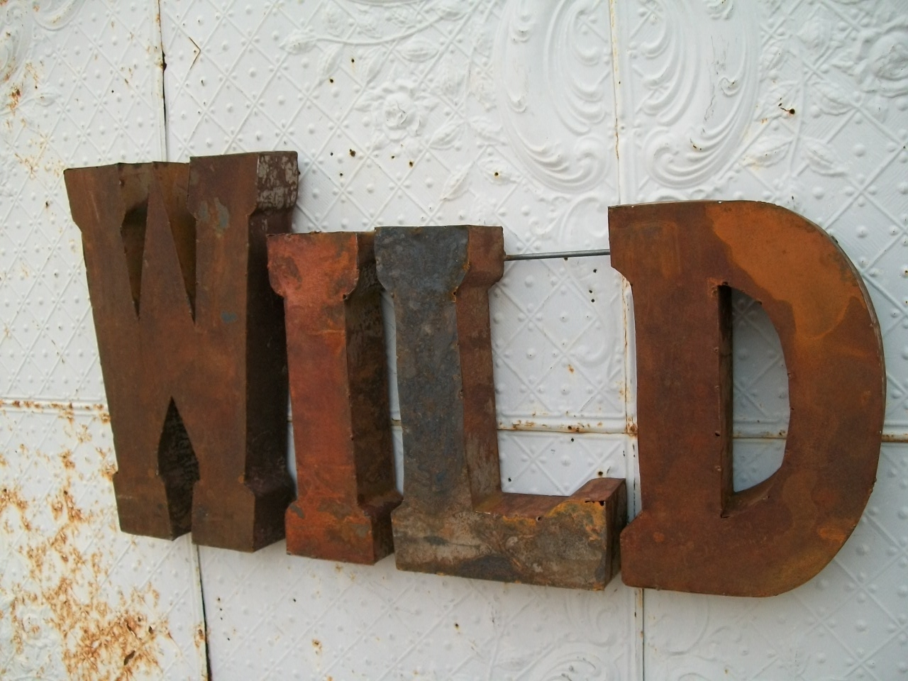 Download Metal Letters Wall Decor | V Sanctuary Large Letters With Regard To 2017 Metal Letter Wall Art (View 3 of 20)