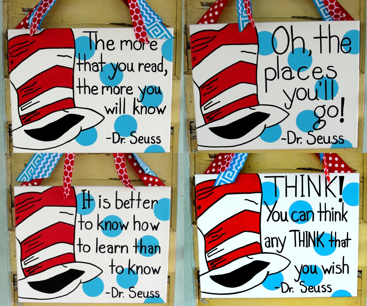 Dr Seuss Wall Art – Culturehoop Within 2017 Dr Seuss Wall Art (View 13 of 20)