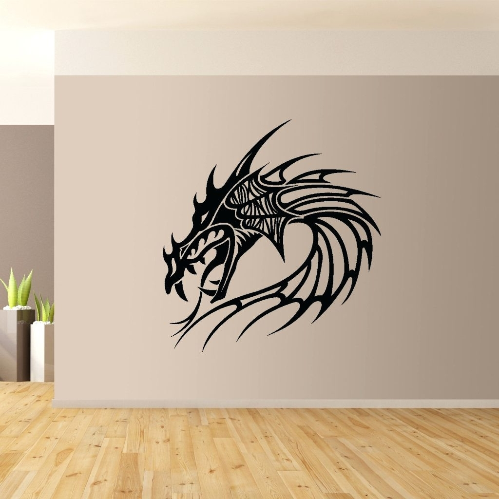 Dragon Wall Art Marvelous Dragon Wall Art - Wall Decoration Ideas regarding Most Up-to-Date Dragon Wall Art