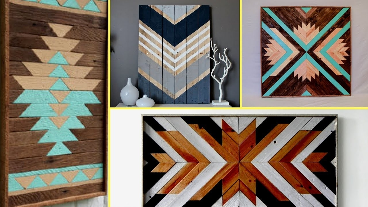 ?Reclaimed Wood Art Decor Ideas| Diy Wall Decoration Ideas 2017 With Regard To Best And Newest Reclaimed Wood Wall Art (View 1 of 15)