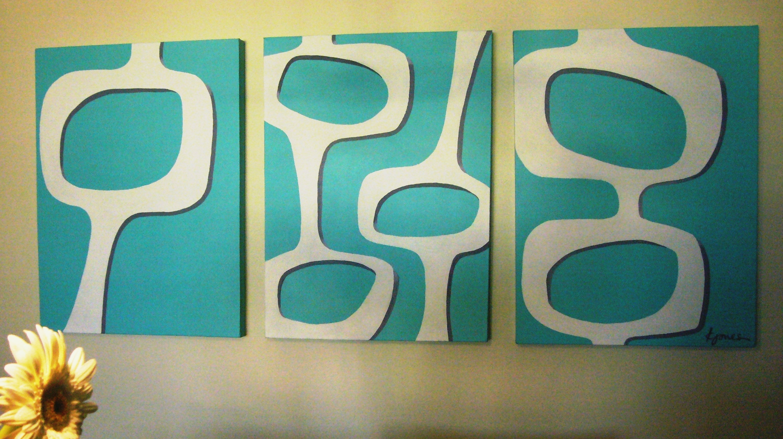 Easy Art | Pennello Lane Pertaining To Current Mid Century Wall Art (View 4 of 20)