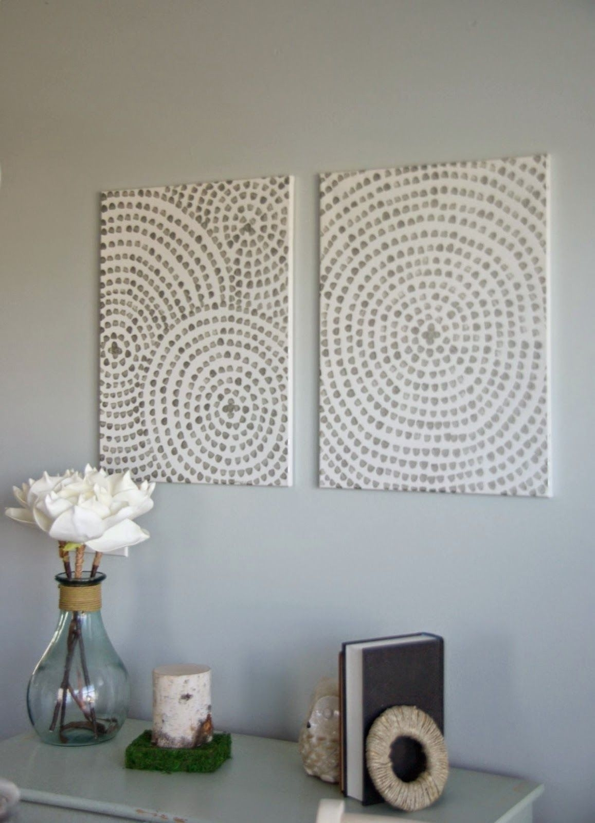 Easy Canvas Wall Art, Making Diy Wall Art Is Simple And Inexpensive With Regard To Recent Inexpensive Wall Art (Gallery 14 of 20)