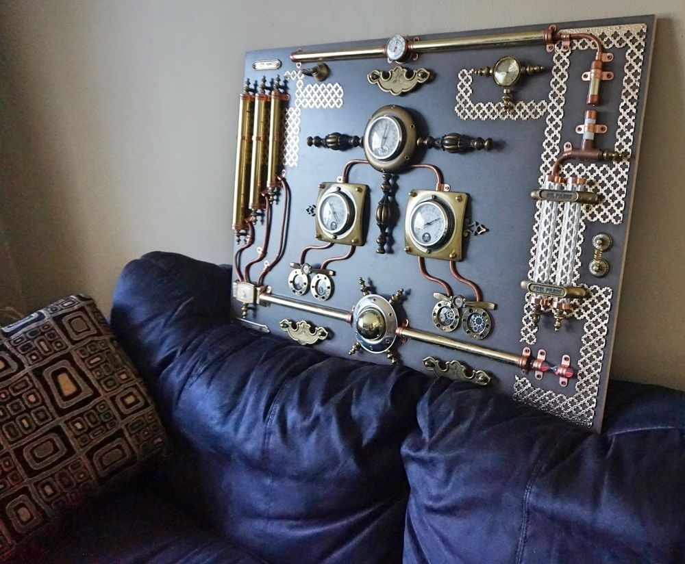 Ecfcabfaccfacb Ideal Steampunk Wall Art – Home Design And Wall Throughout Current Steampunk Wall Art (View 4 of 20)