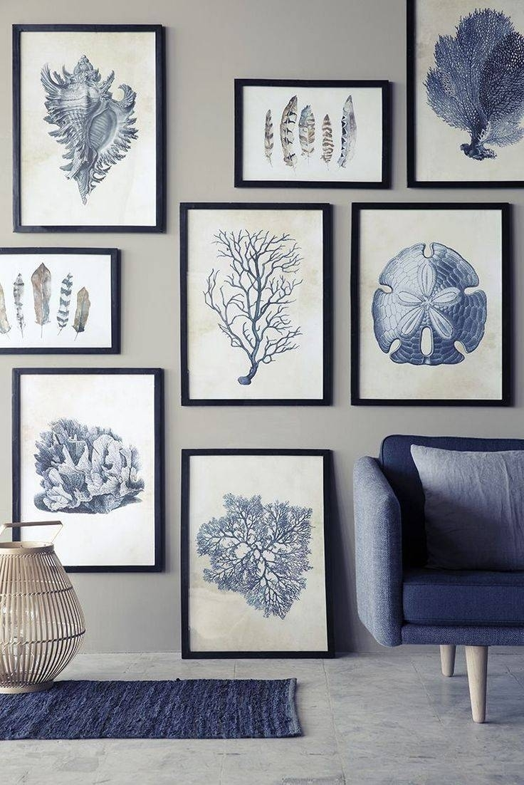 Elegant Coastal Wall Decor 9 Images On | Relaxbeautyspa Intended For Most Up To Date Large Coastal Wall Art (Gallery 1 of 20)