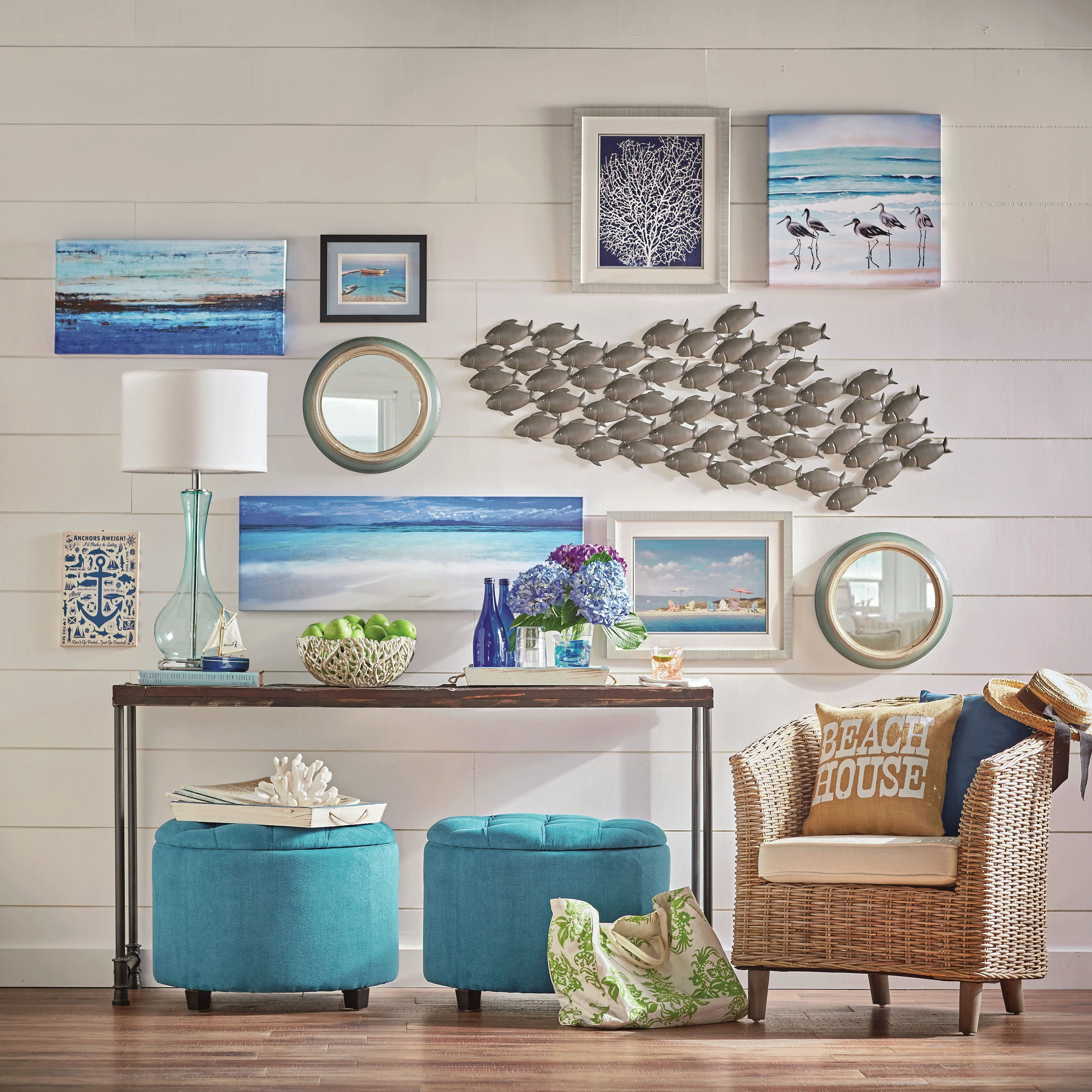 Elegant Coastal Wall Decor 9 Images On | Relaxbeautyspa Intended For Newest Large Coastal Wall Art (View 13 of 20)