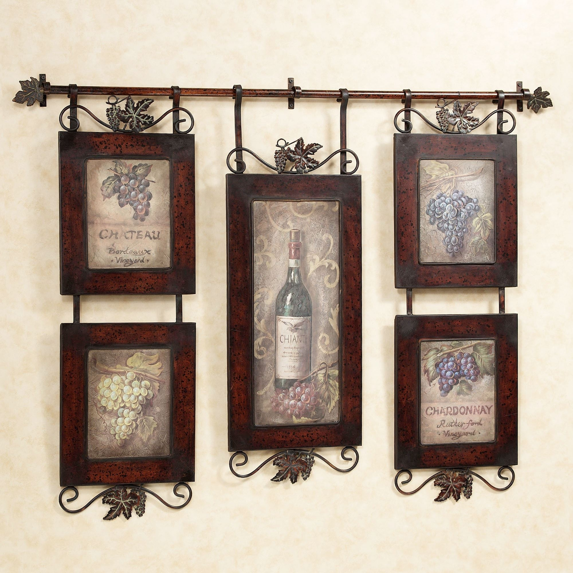 Emilion Wine Wall Art Pertaining To Most Current Art Wall Decor (View 9 of 20)