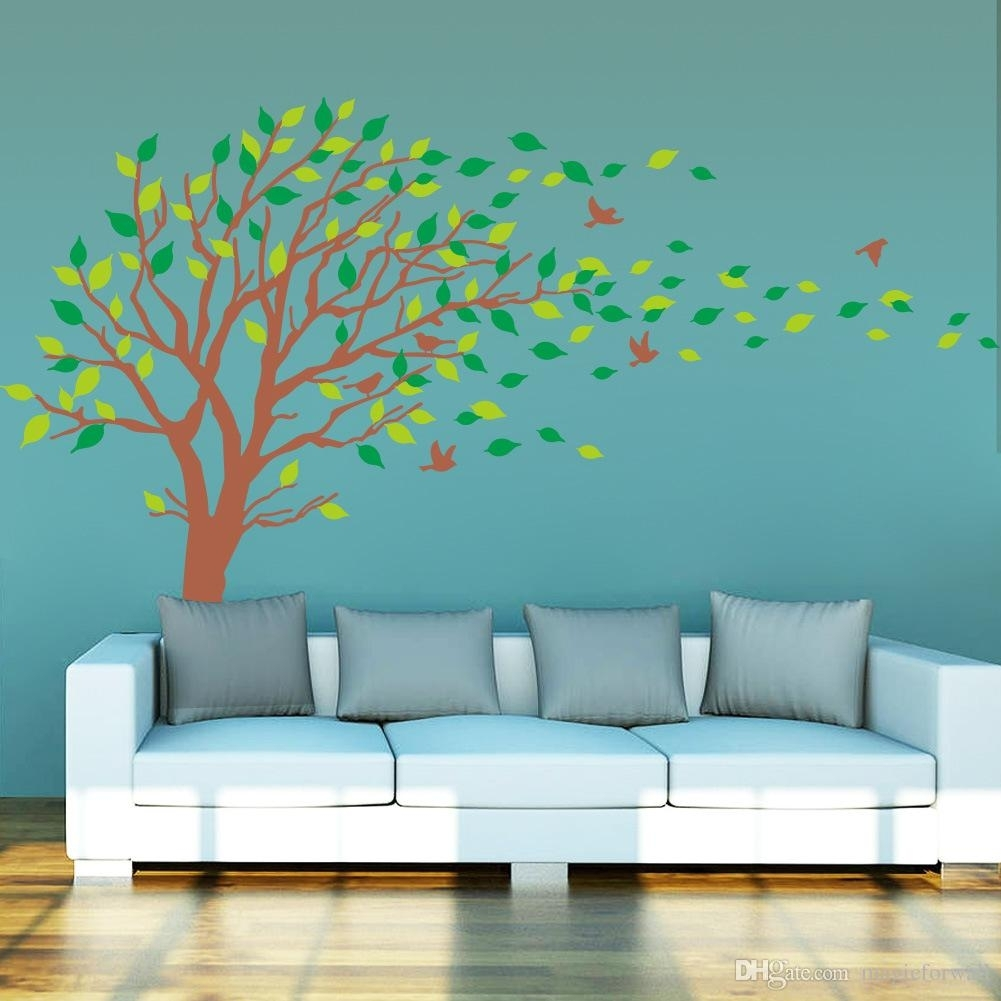 Extra Large Tree Wall Art Mural Decal Sticker Living Room Bedroom Pertaining To Most Recent Extra Large Wall Art (Gallery 19 of 20)