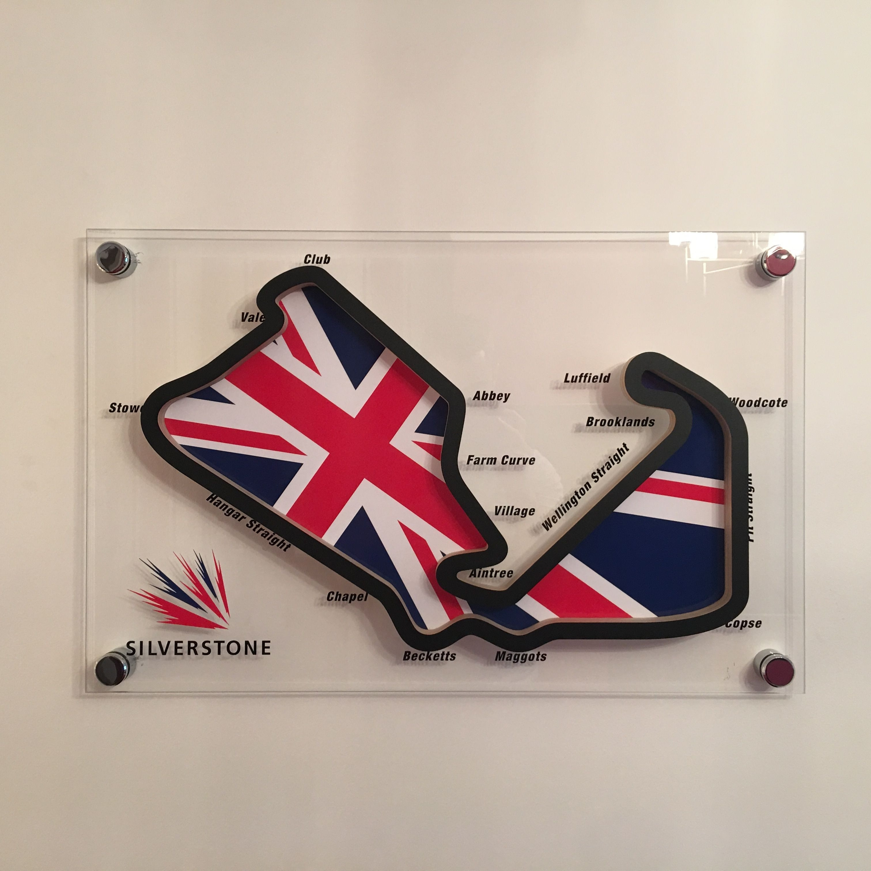 F1 Track Art Using 4 6Mm Toughened Glass With A Cnc Track Cut Out Of Pertaining To Recent Race Track Wall Art (Gallery 16 of 20)