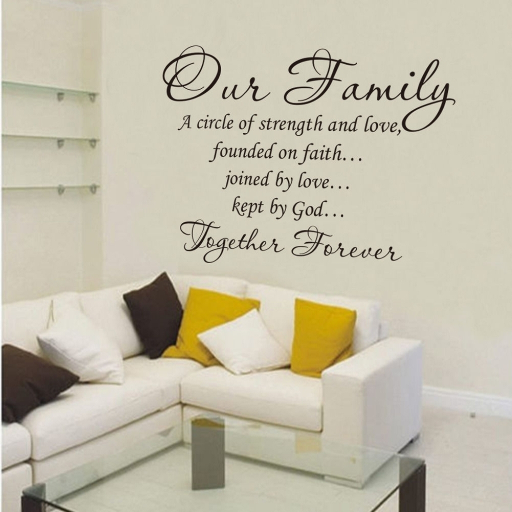 Family Wall Decor Stickers – Blogtipsworld Intended For Best And Newest Family Wall Art (Gallery 4 of 15)