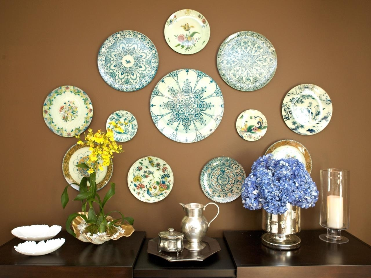 Fantastic Glass Plate Wall Art Home Pictures Murano Hanging Plates For 2018 Glass Plate Wall Art (View 4 of 15)