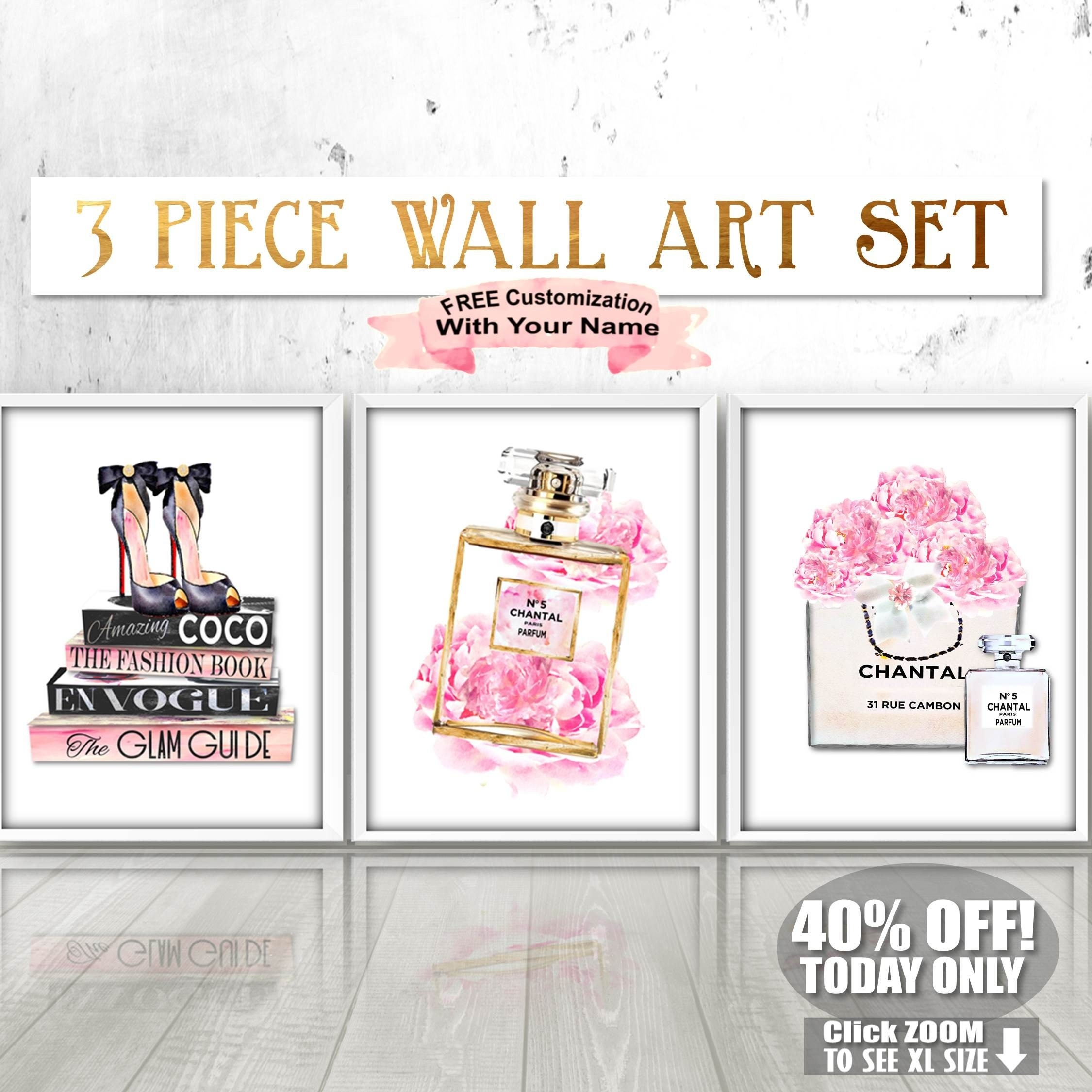 Fashion Wall Art – Arsmart Throughout Latest Fashion Wall Art (View 9 of 20)