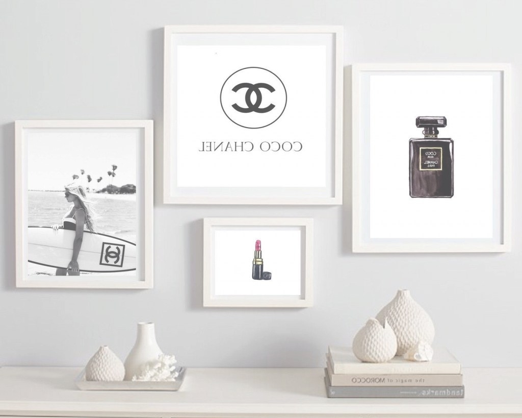 Fashion Wall Art Best Of Explore Photos Of Chanel Wall Decor Intended For Most Current Fashion Wall Art (View 10 of 20)